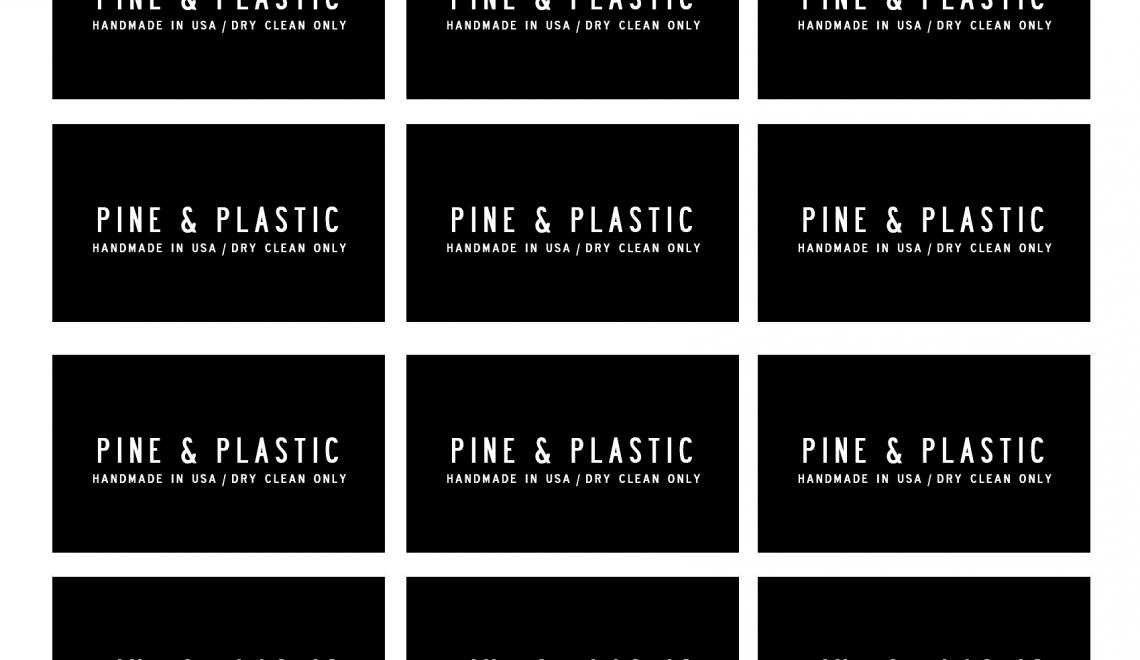 Pine & Plastic